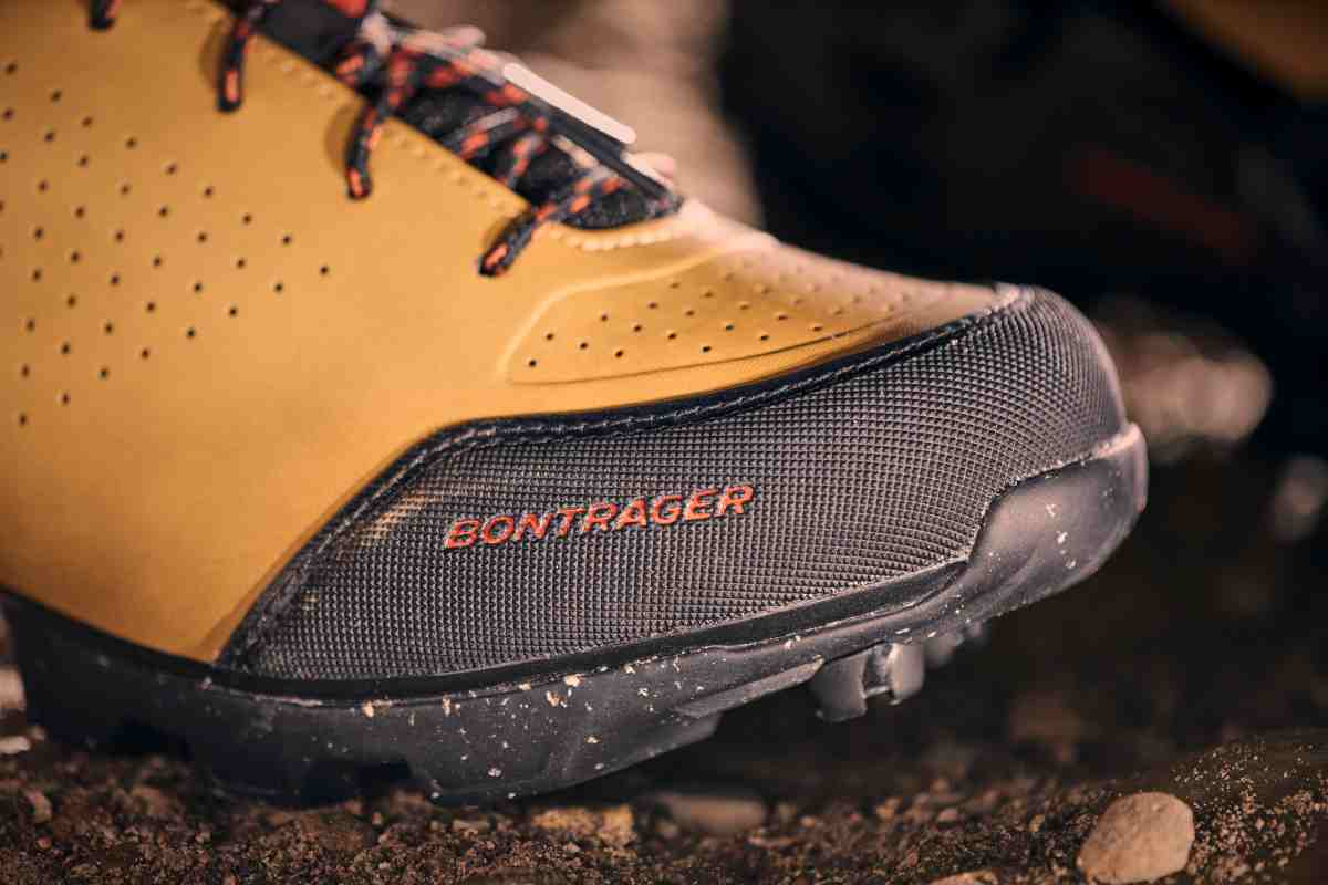 Toe protection on the GR2 Gravel Shoe