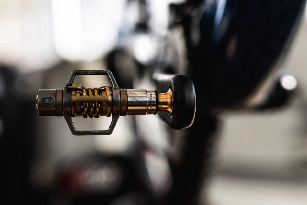 Egg beater titanium pedals