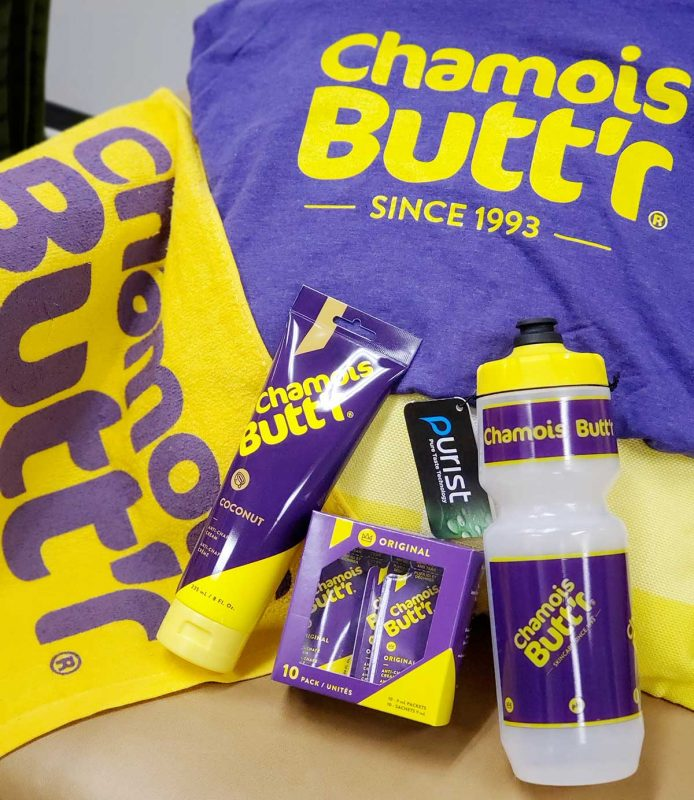 Enter to Win a Chamois Butt'r Care Package.