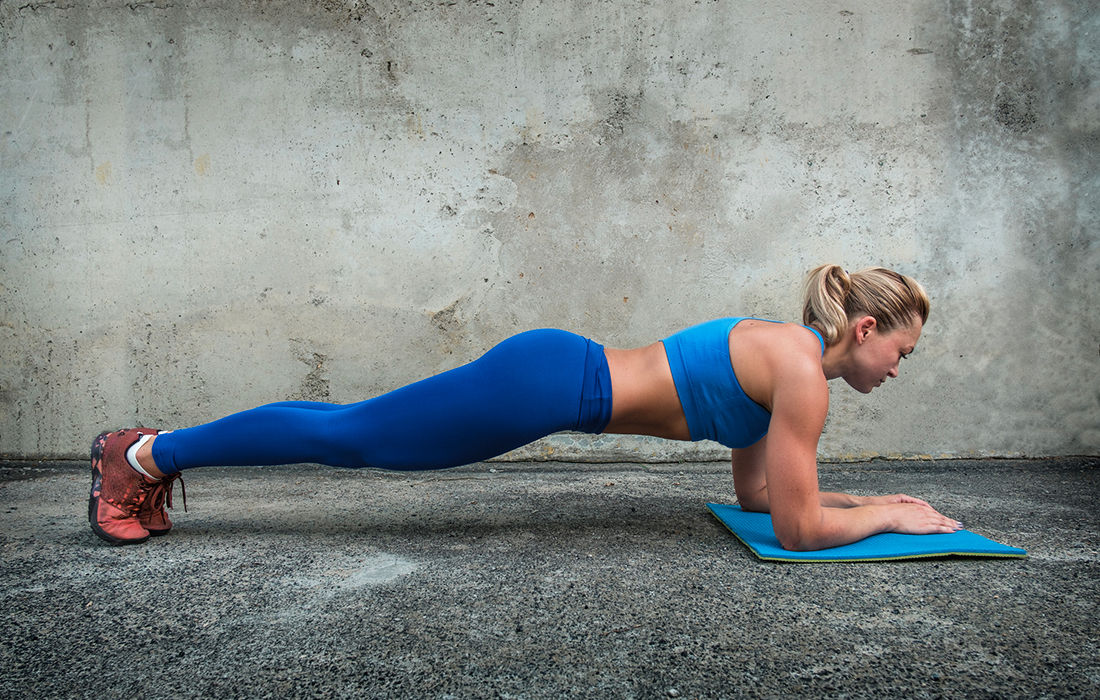 Body weight exercises are definitely work at home essentials