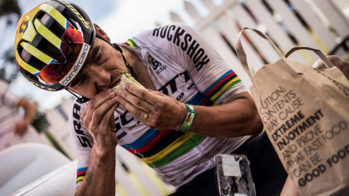 How does Nino Schurter Recover