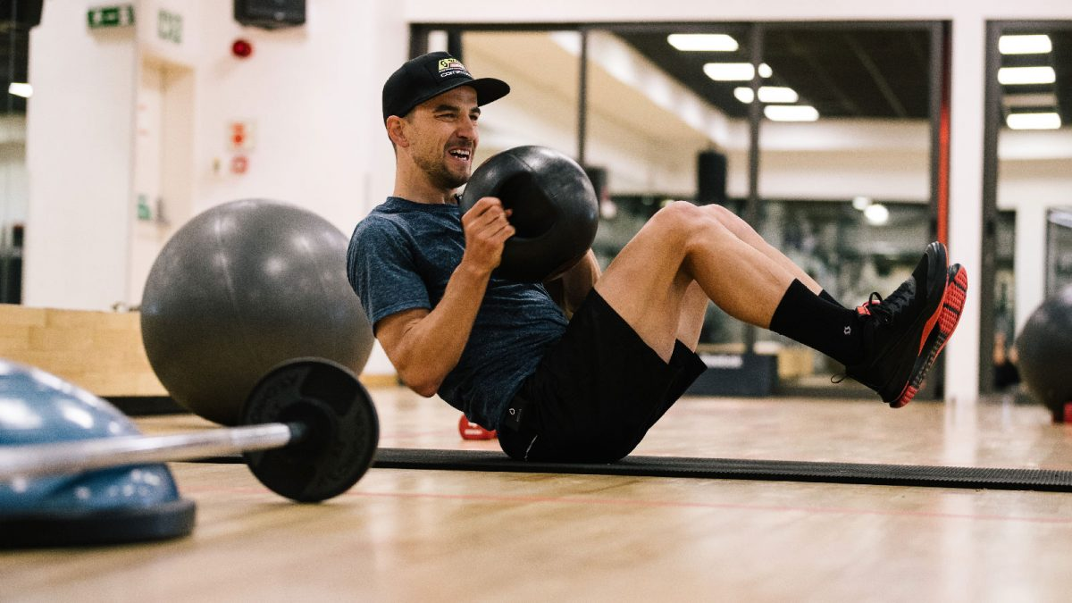 Hitt'n the Gym with Nino Schurter