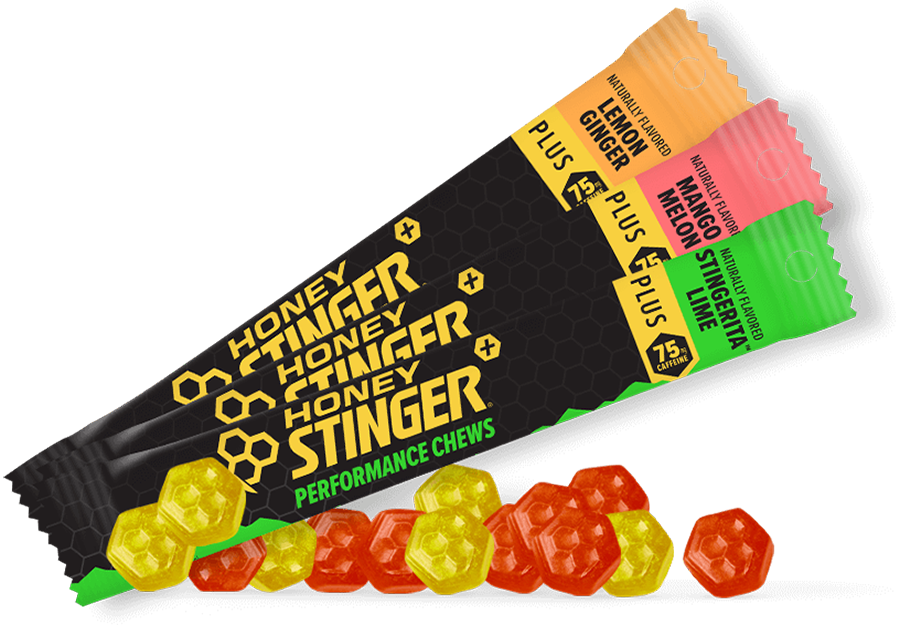 Honey Stinger PLUS+ Performance Chews,