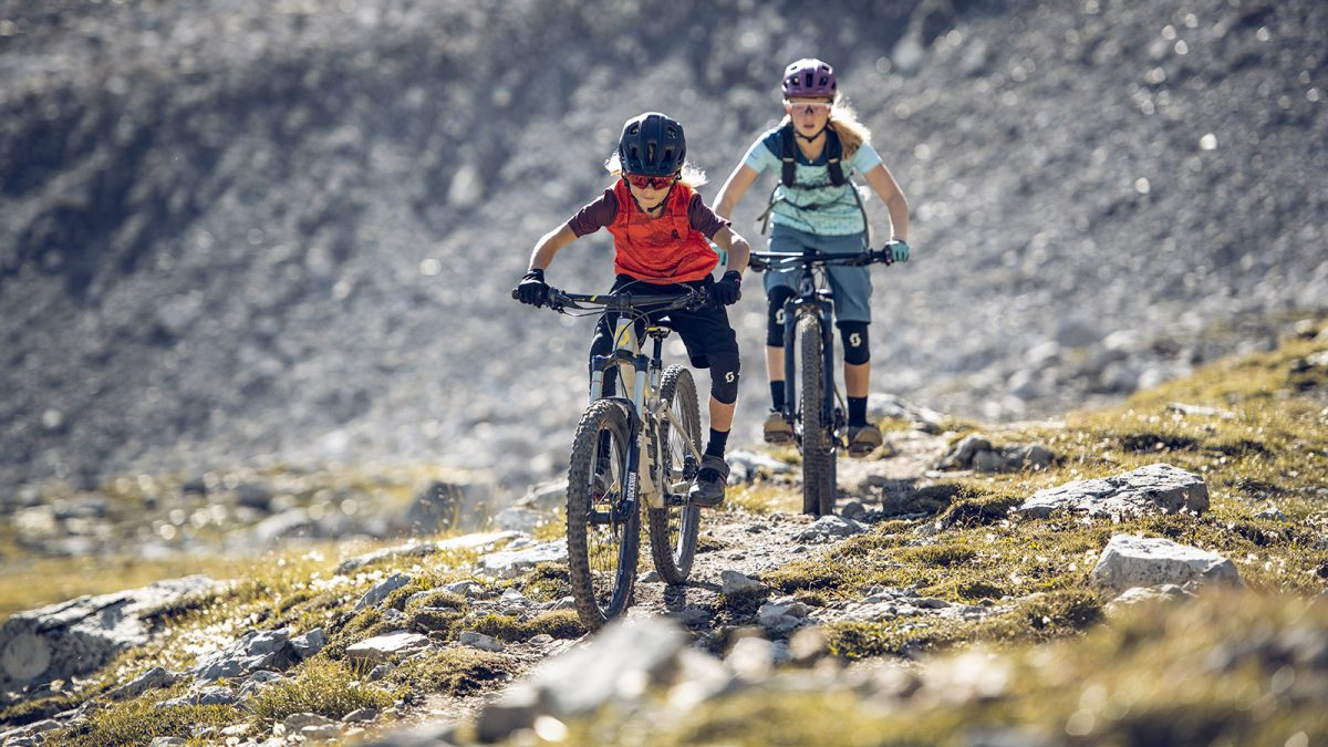 Get Kids into Mountain Biking