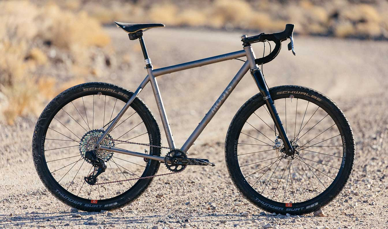 Moots with SRAM 52 tooth cassette