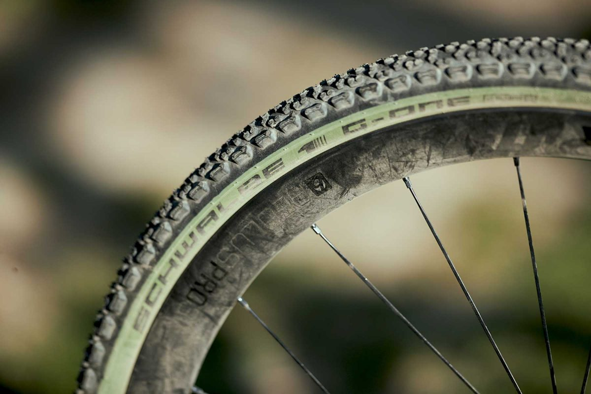 Schwalbe Special Edition G-One Ultrabite in Olive Green
