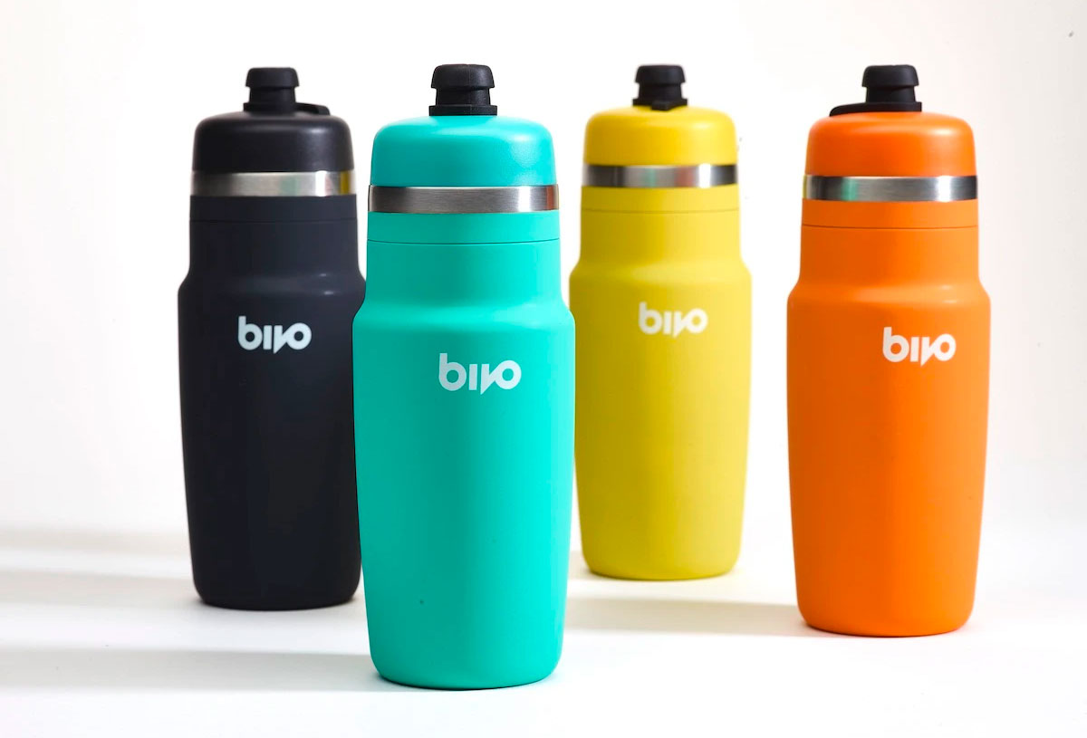 Bivo Stainless Steel bike bottle