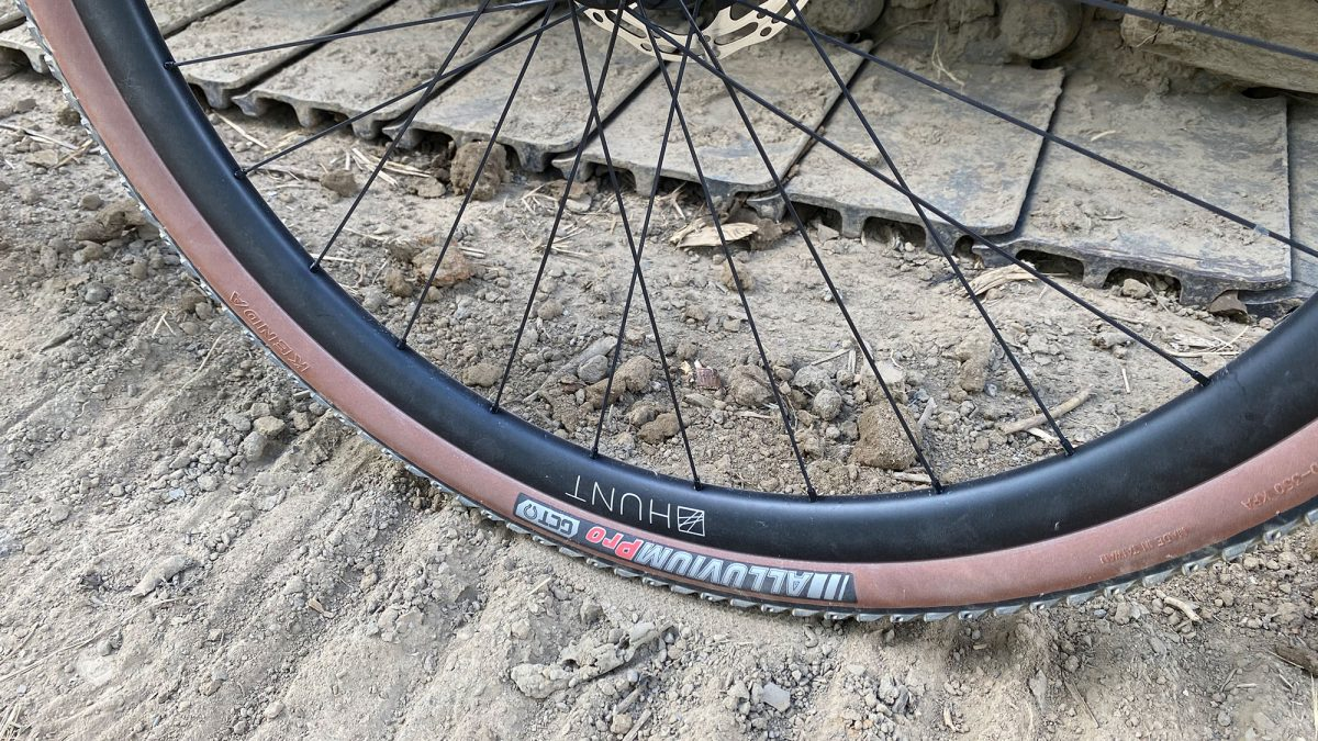 Hunt Gravel Wheels with Kenda Tires