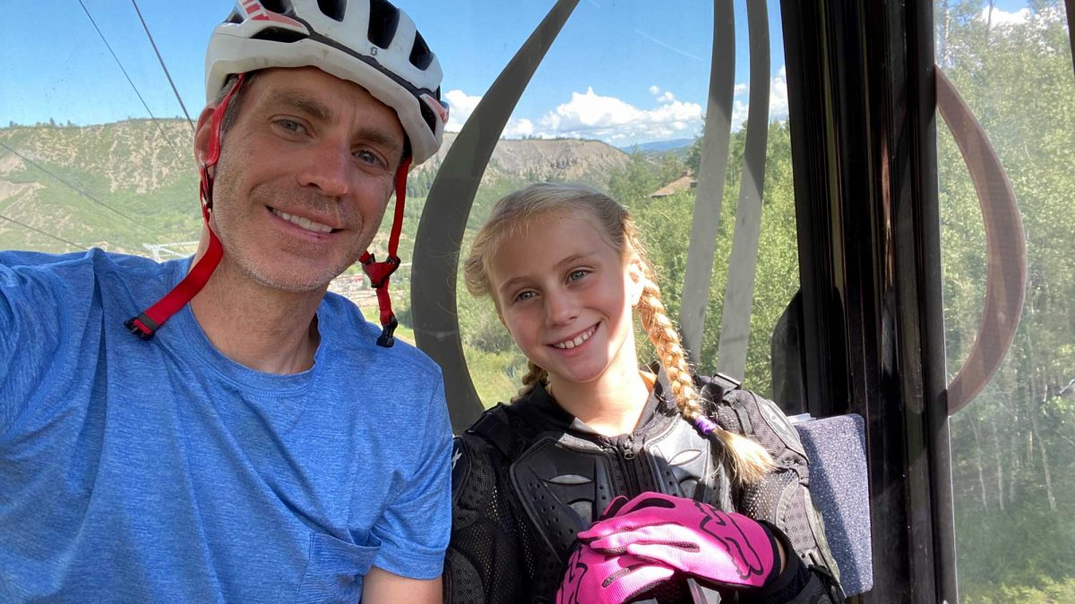 Mountain Biking the Snowmass Bike Park