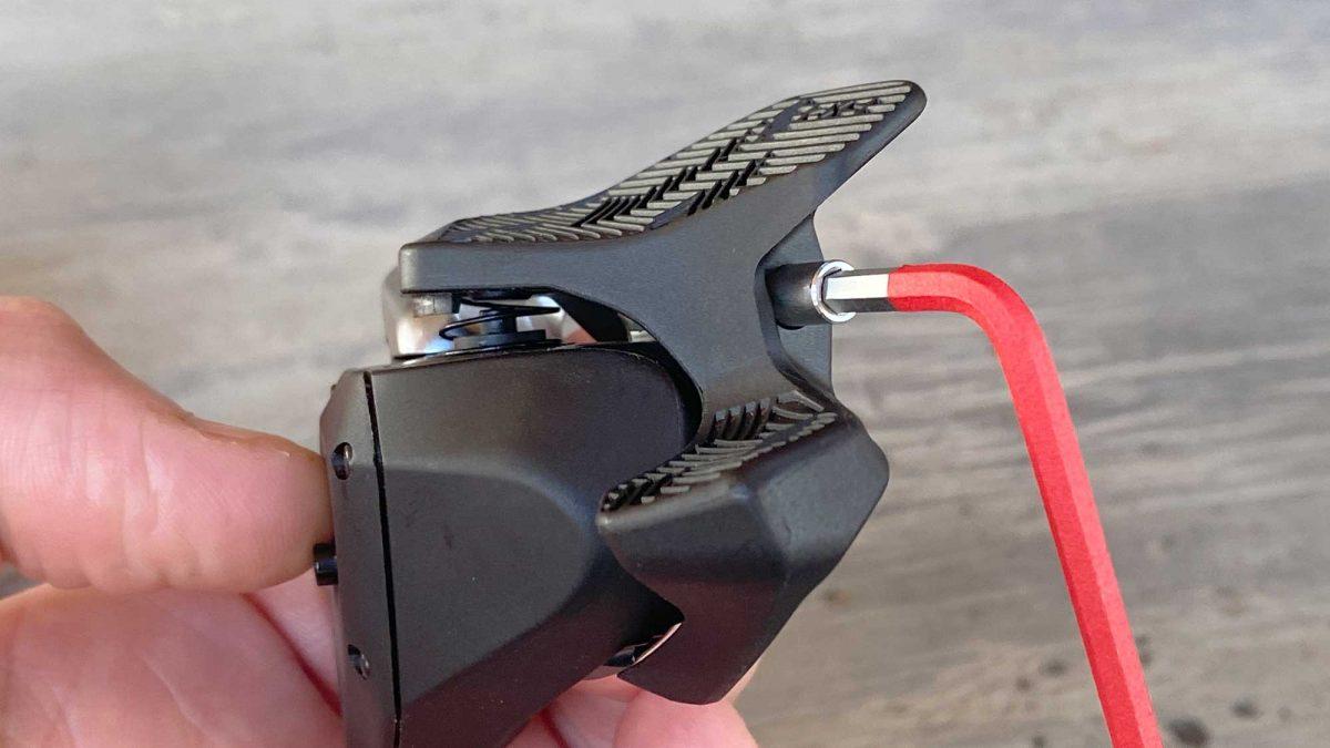 SRAM AXS Shifter Paddle Install