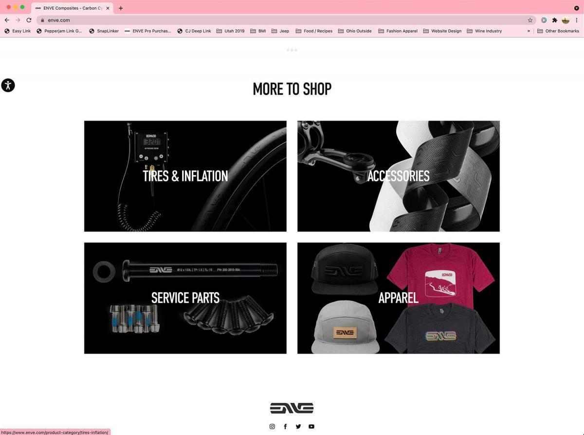 ENVE Website