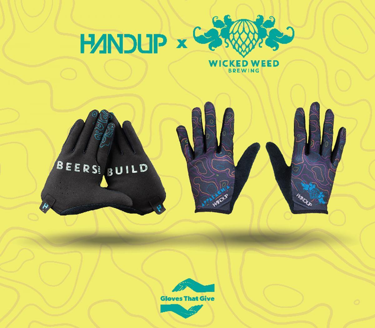HANDUP Wicked Weed Brewing Gloves - HANDUP Gloves that Give
